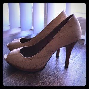 Amisu Shoes | Nude High Heels Pumps Stilettos Us 9 Eur 40